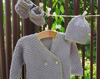 Knit baby bamboo yarn