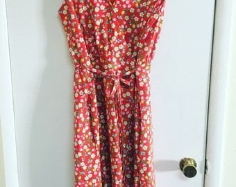 Vintage 70's wrap dress