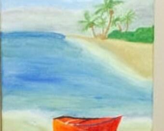 Beautiful Beach painting