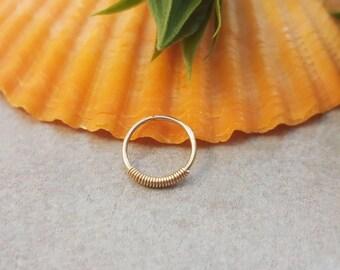Helix Piercing / thin helix piercing / helix piercing 20g / tiny helix piercing / helix piercing jewelry / heix piercing hoop / nose hoop