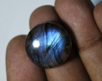 Natural Labradorite Cabochon, Dark Blue Labradorite Gemstone, Labradorite loose stone, Spectrolite Labradorite loose gemstone [18x18]#233
