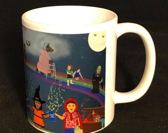 Reading is Fun Fairy Tale 11 oz Ceramic Mug