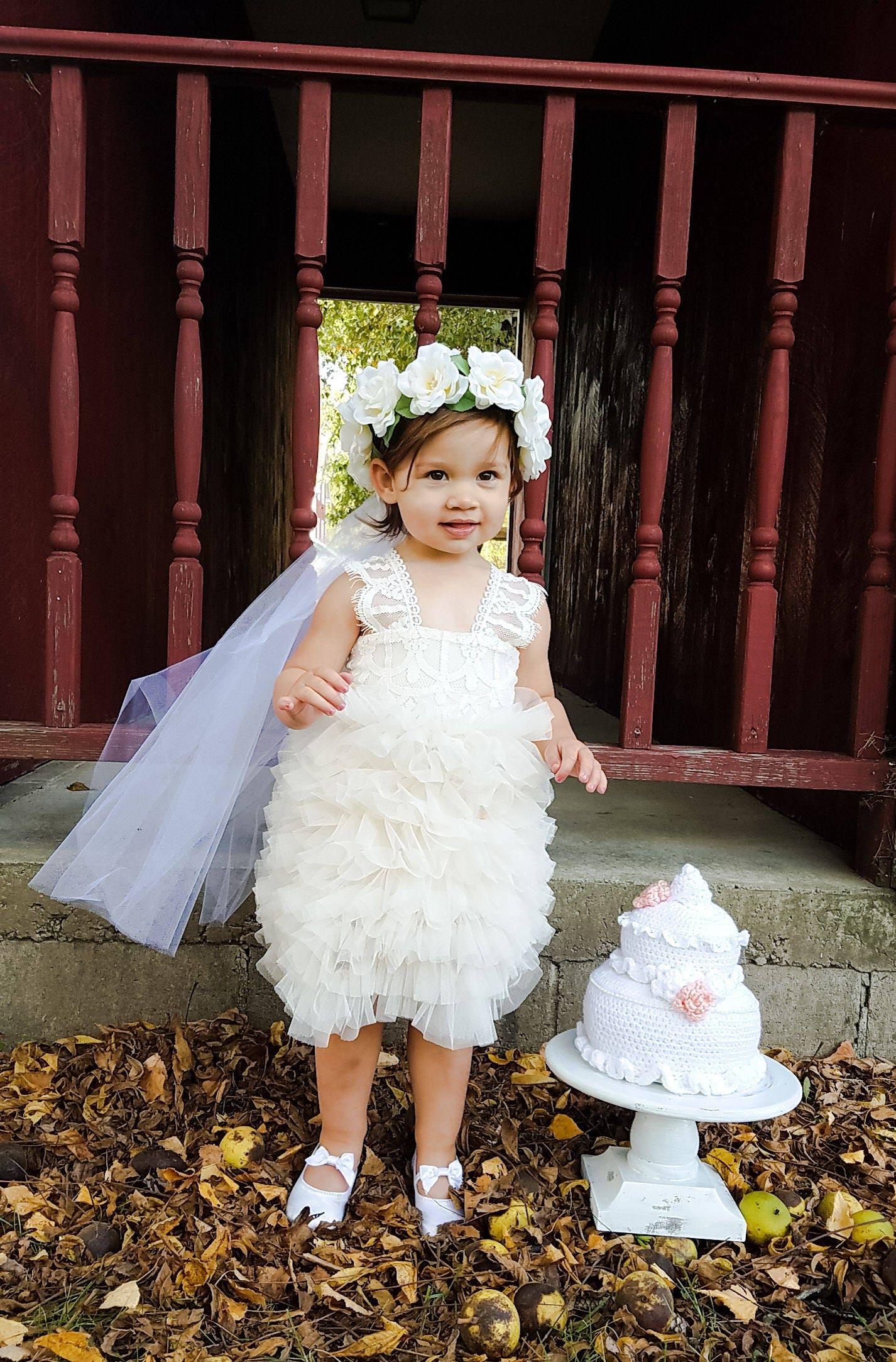 Flower Girl Dress Girls Couture Dress Flower Girl Dresses Toddler