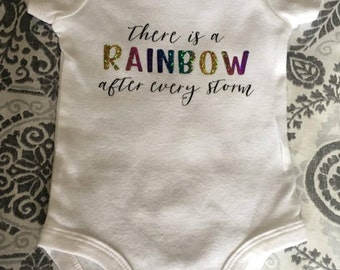 Rainbow after the Storm Baby Bodysuit