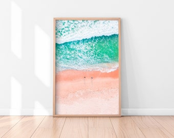 Ocean Wall Art, Beach Wall Art Printable, Ocean Wall Decor, Beach Printable Art, Printable Poster, Digital Print, Digital Download, Water