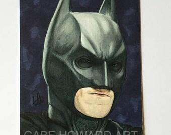 The Dark Knight Series - Batman Print - Three of Three