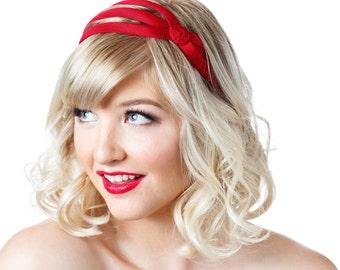 Red Headband, Hair Stylist, Hair Dresser, Weekender, Girls Weekend, Summer Hair, Gifts Under 25, Hair Ideas, Bangs, Short Hair Styles
