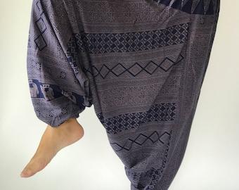 HC0235 Harem Pants Unisex Low Crotch Yoga Trousers