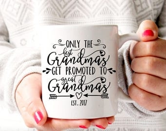 Great Grandma Gift, Great Grandparent Gift, Great Grandma Mug, Grandma Present, Baby Announcement, Pregnancy Reveal, Grandma Coffee Mug