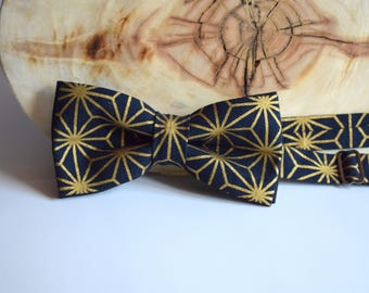 Bow Tie for Men. Golden Bow Tie. Bow tie for Groom