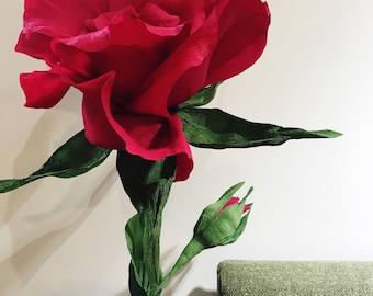 Giant Paper Flower / Big Paper Flowers / Large Flowers / Large Paper Flower / Paper Flowers / Paper Decoration / Paper Flower Wedding