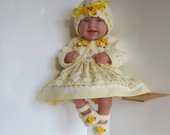 Baby Dolls Clothes for 14 inch dolls - BERENGUER / CUPCAKE La Newborn / Reborn or similar