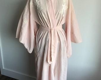 Vintage Powder Pink Kimono