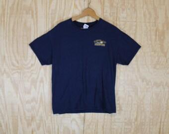 Vintage 1990's Sleeping Lady Brewing Company Alaska Bravehart Scottish Ale Cotton T-Shirt  T Shirt Gildan Large L