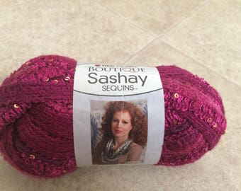 Red Heart Boutique Sashay Sequins - Phlox