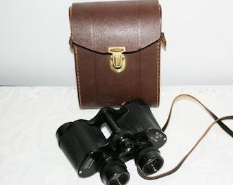 Binoculars, CORONAR, 8 x 30, No K-71864, metal black, with bag