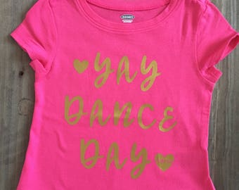 Yay Dance Day Top for Girls!