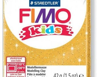 Polymer Kids gold glittery no.112 - 42gr