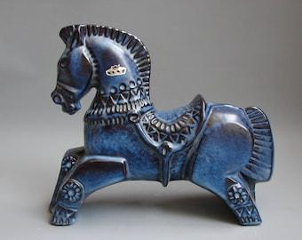 Rare Horse Bay sixties German ceramics large horse Bay keramik