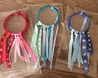 Rattle Dream catcher. quiet and teething. for baby!