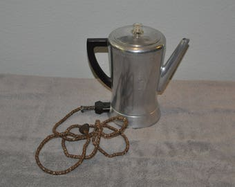 Vintage West Bend Flavo Matic Coffee Pot