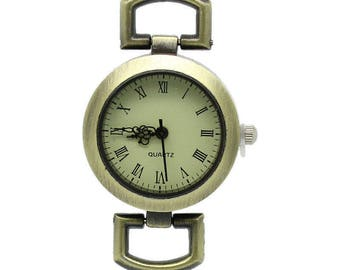 Dial Watch with battery 4.8x2.9cm accessory
