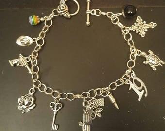 Dark Tower Gunslinger Charm Bracelet
