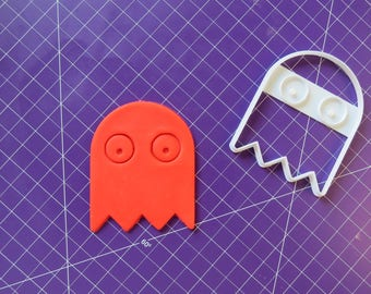 Pacman Ghost Cookie Cutter|3D Printed Cookie Cutter,Pacman  Cookie Cutter