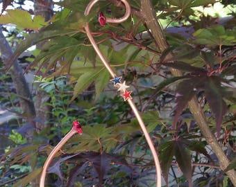 Hummingbird Swings place near feeders and watch the fun!