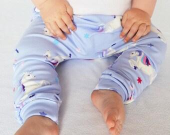Unicorn Leggings   Baby Leggings   Girls Leggings   Girls Harems   Unicorns   Baby Unicorn   Baby Shower Gift   New Baby Gift  
