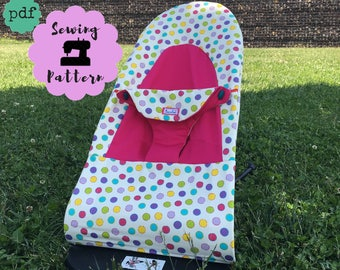 BABYBJÖRN Seat replacement Cover PDF Pattern for Balance Bouncer Soft, bouncer cover sewing pattern , Instant Download BABY Björn