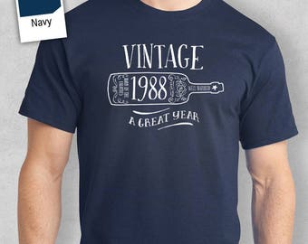30th Birthday, 1988 Shirt, 1987 Legend. Men's T-Shirt, 30th Birthday Gift, 30th Birthday Idea, 30 Birthday Present, 30 Birthday Gift!