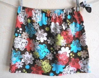 "Pretty cotton skirt pattern ""Anna"" size S (36-38)"
