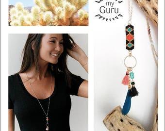 Long weaving beads Miyuki