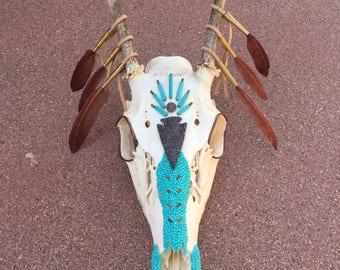 Arrow Warrior Deer skull