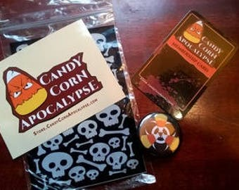 Halloween Club Membership Pack: Candy Corn Apocalypse Army