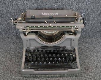 Underwood 1935 No. 6 Typewriter
