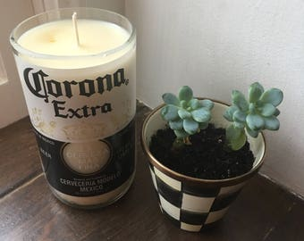 Citronella Candle - 24oz Corona Bottle