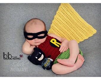 Robin Newborn set - crochet - made to order