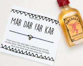 Mar Dar Far Kar Friendship Bracelet, Mother Fucker Gift, BFF Gift, Boyfriend Gift, String Bracelet, Mature Content Gift, funny xmas gift