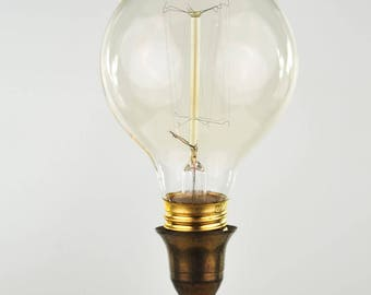 Antique Style Edison Medium Base Globe Bulb
