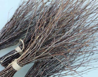 4 Bundles of Birch Twigs, Birch Bark Wedding Decor, Birch Tree Branch, Birch Branches, Rustic Weddings, Decorative Birch, Rustic Decor