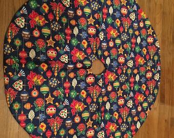 Ornament standard tree skirt
