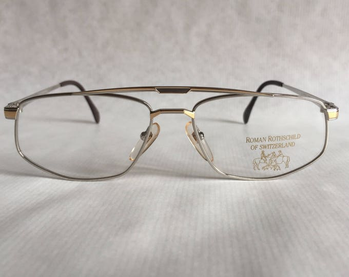 Roman Rothschild of Switzerland R1042 Vintage Glasses New Old Stock Made in Japan