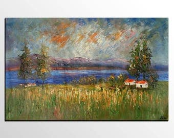 abstract painting large oil painting wall art abstract art original painting - Oil Painting
