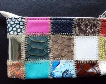 Mini Handmade Genuine Leather Purse, Christmas Gift, Gift for Her, Handmade Gift, Handcrafted Gift