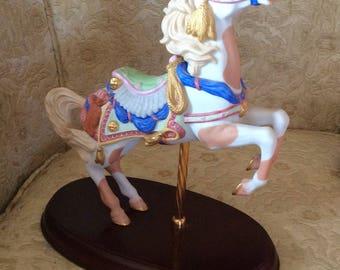 Collectible carousel horse