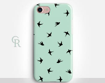 Swallow iPhone SE Case For iPhone 8 iPhone 8 Plus - iPhone X - iPhone 7 Plus - iPhone 6 - iPhone 6S - iPhone SE - Samsung S8 - iPhone 5