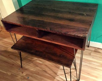 Rustic Mid-Century Modern Dining Room & Kitchen Table Sets