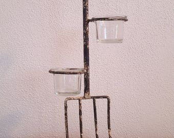 Pitchfork Votive Holder